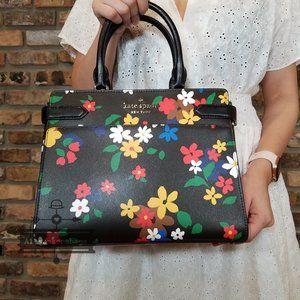 Kate Spade STACI Medium Satchel SAILING FLORAL Bag